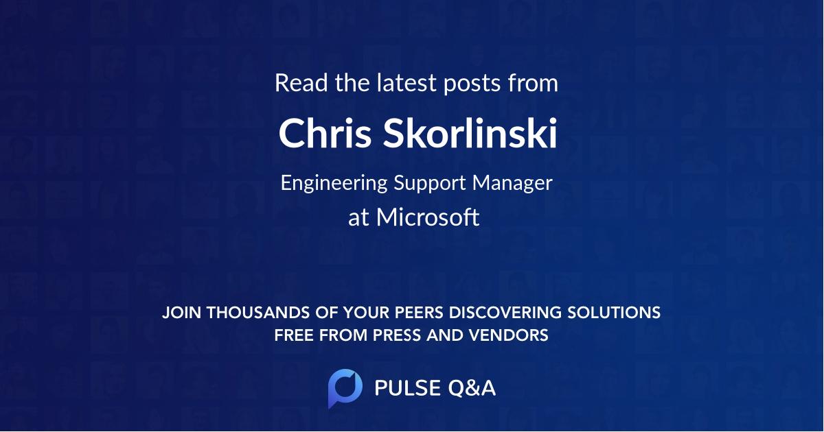 Chris Skorlinski