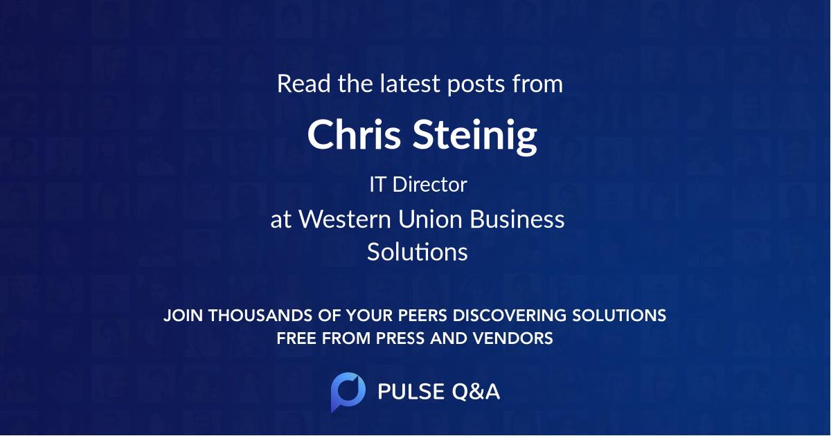 Chris Steinig