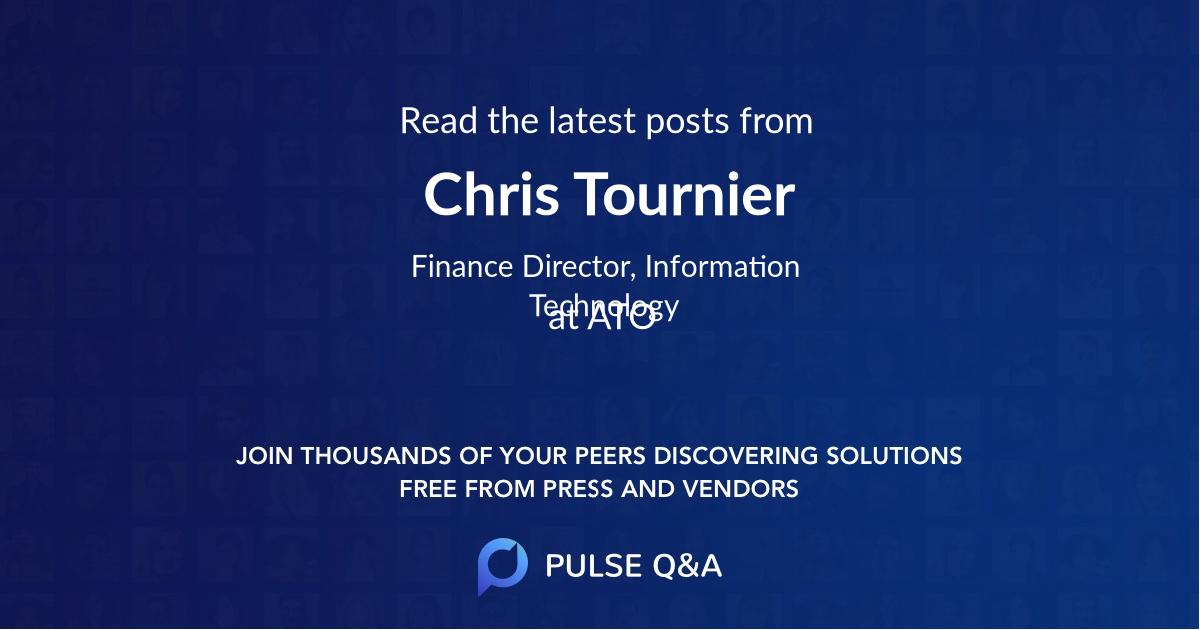 Chris Tournier