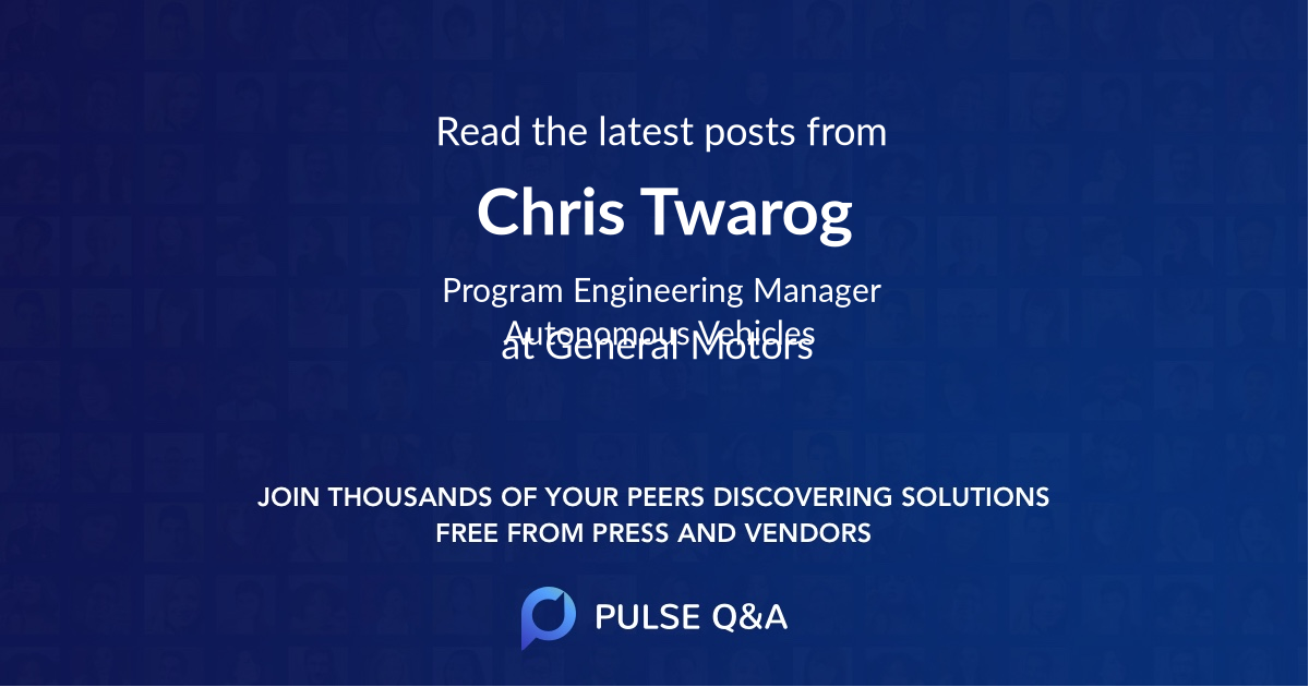 Chris Twarog