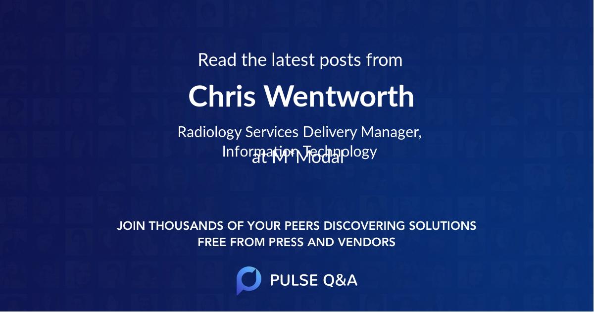 Chris Wentworth