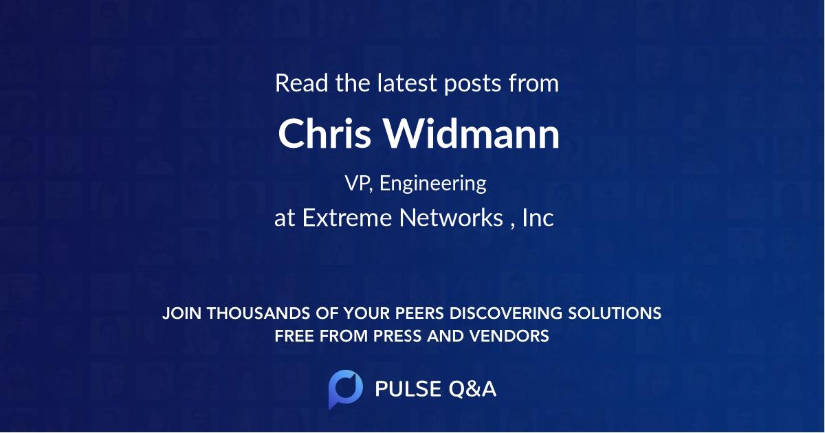 Chris Widmann
