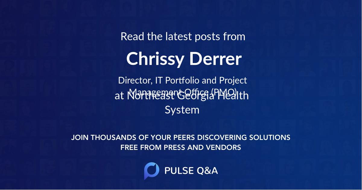 Chrissy Derrer