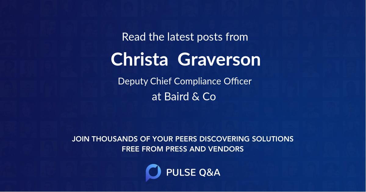 Christa  Graverson