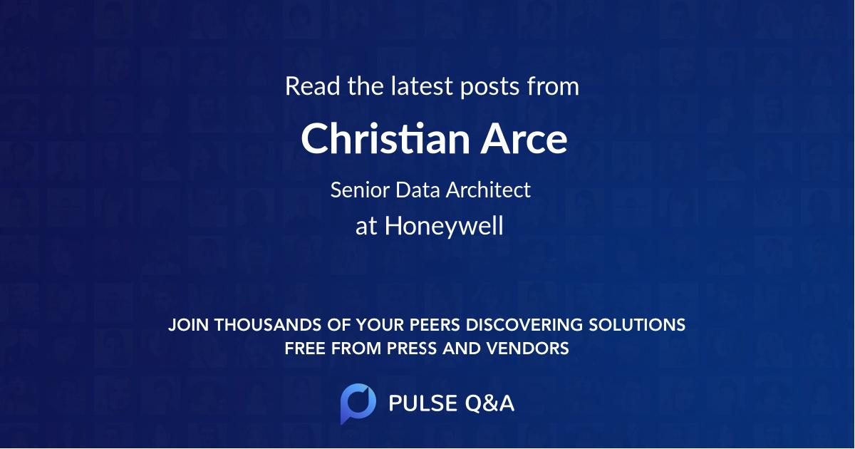 Christian Arce