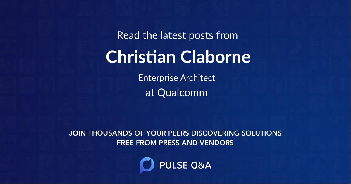 Christian Claborne