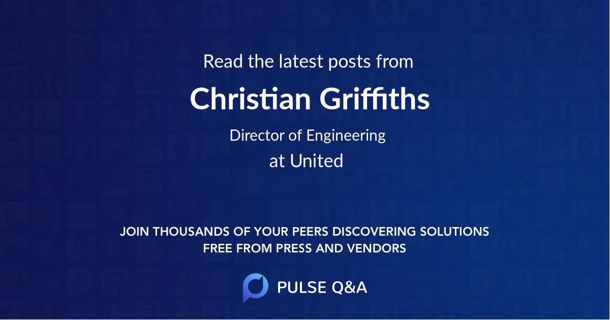 Christian Griffiths
