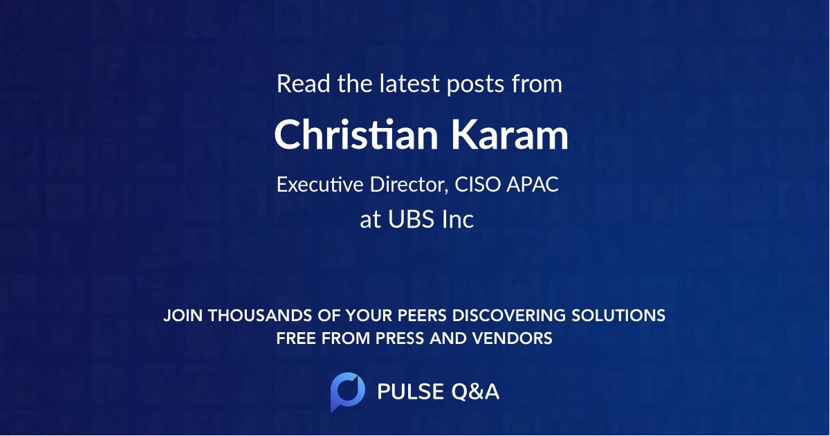 Christian Karam