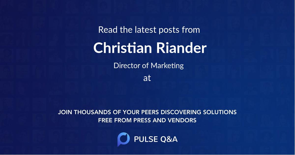 Christian Riander