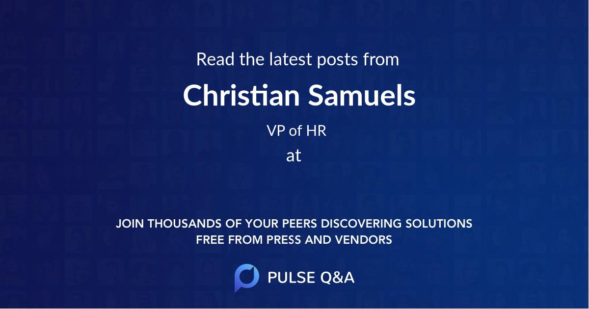 Christian Samuels