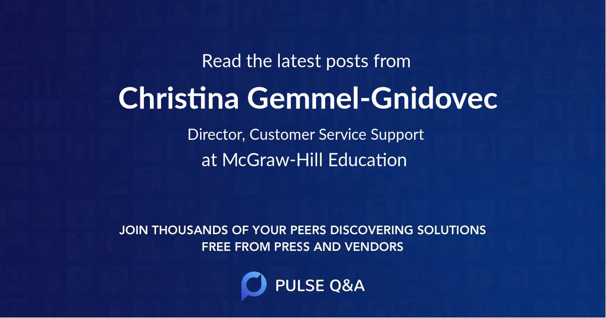Christina Gemmel-Gnidovec
