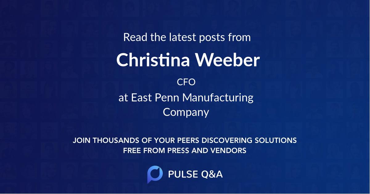 Christina Weeber