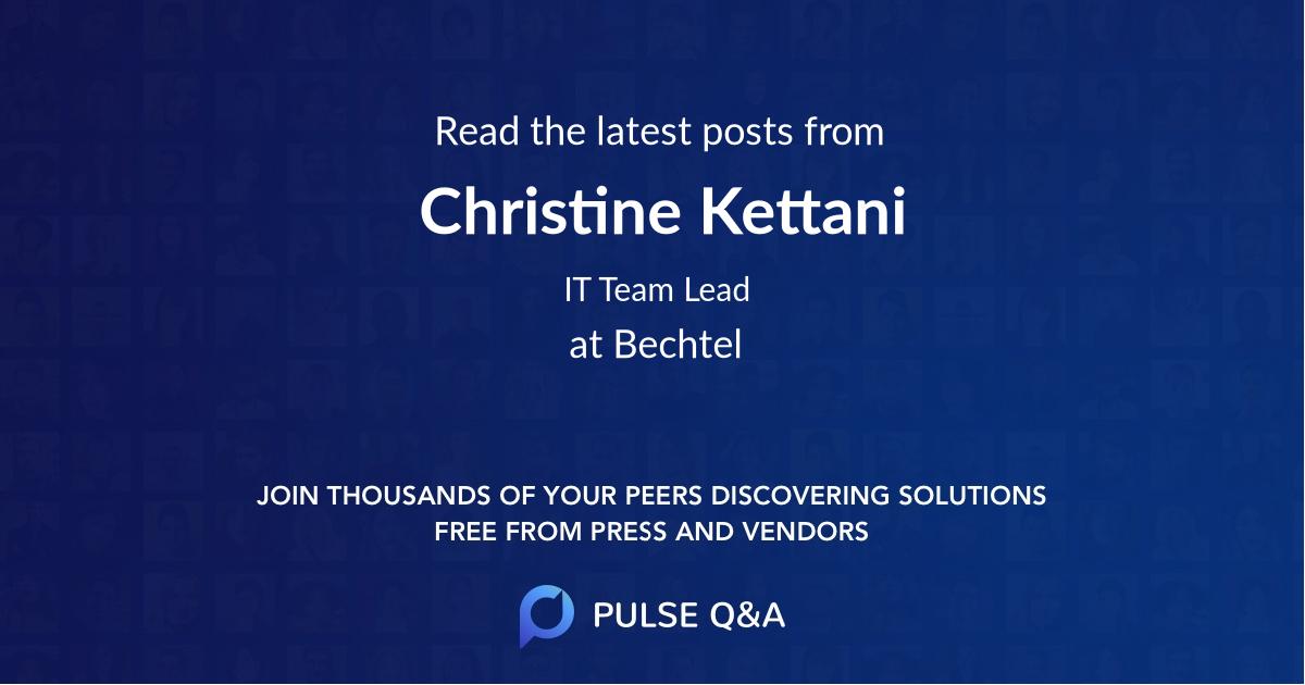 Christine Kettani