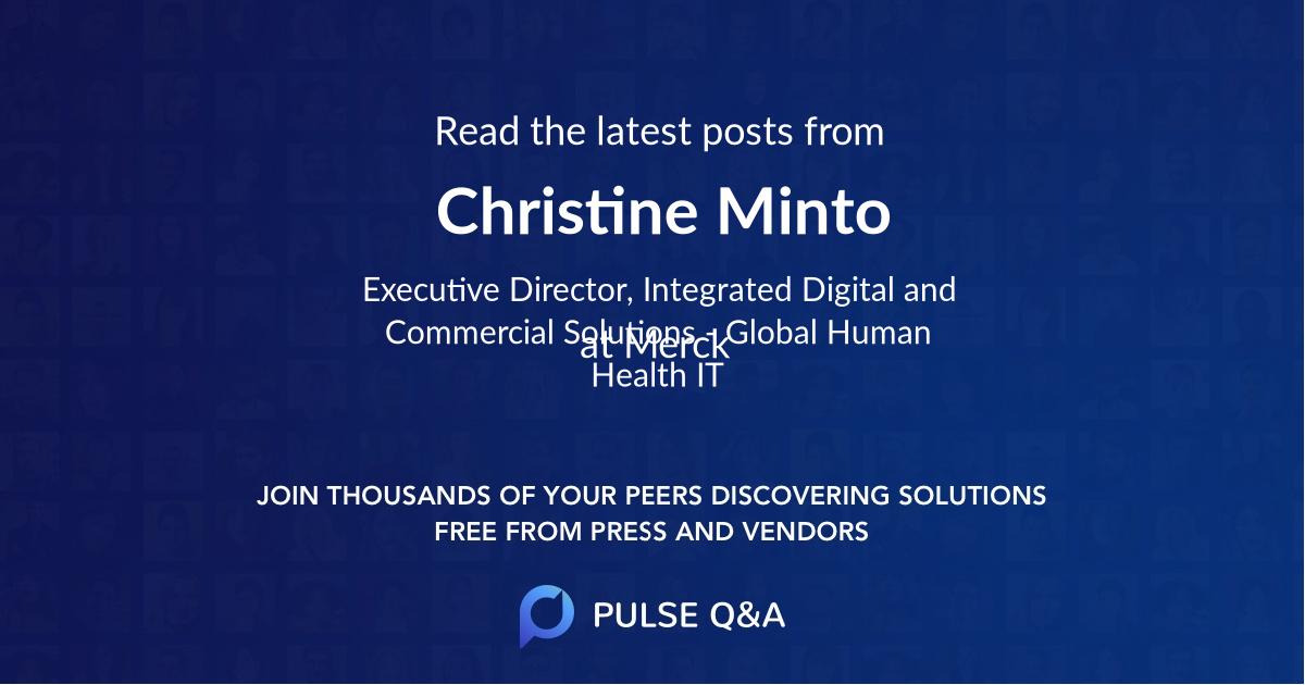 Christine Minto
