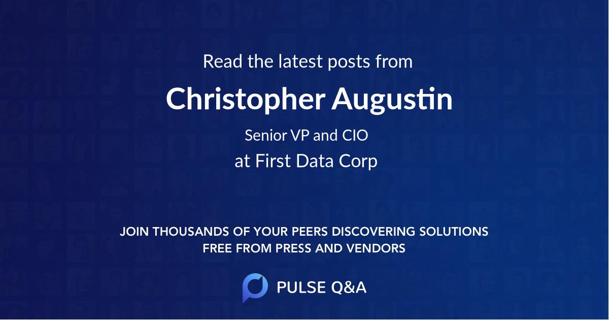 Christopher Augustin