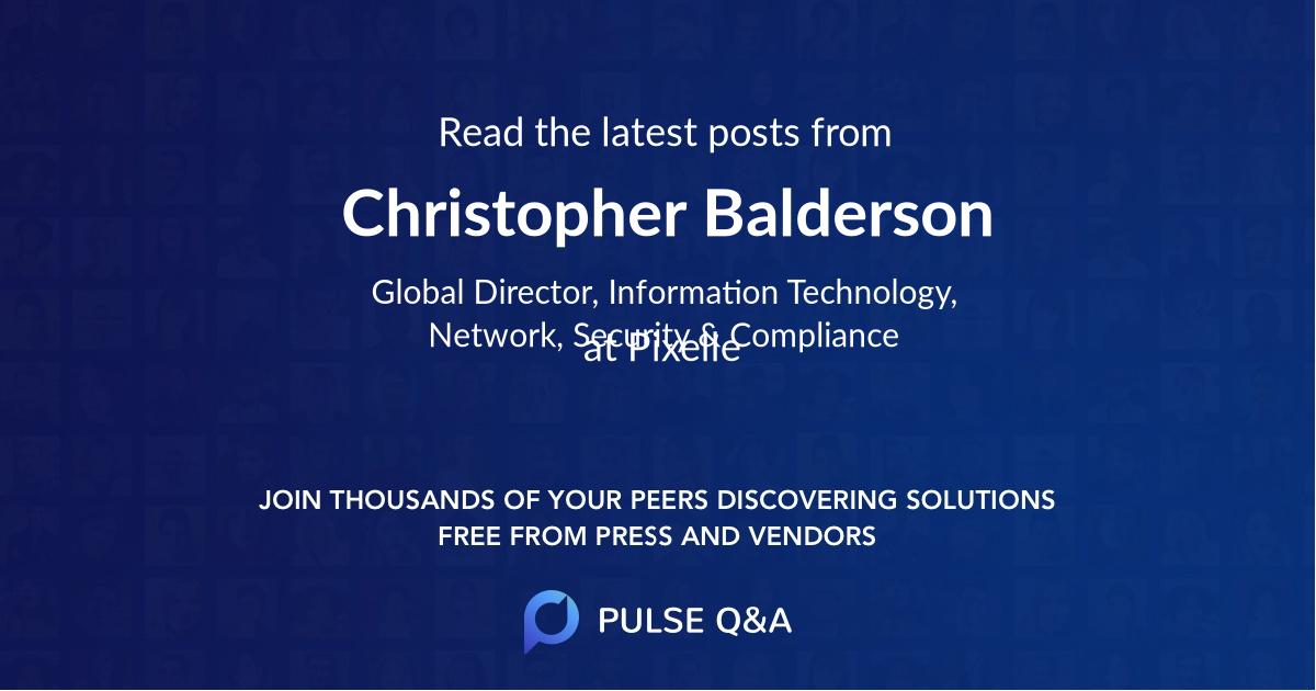 Christopher Balderson