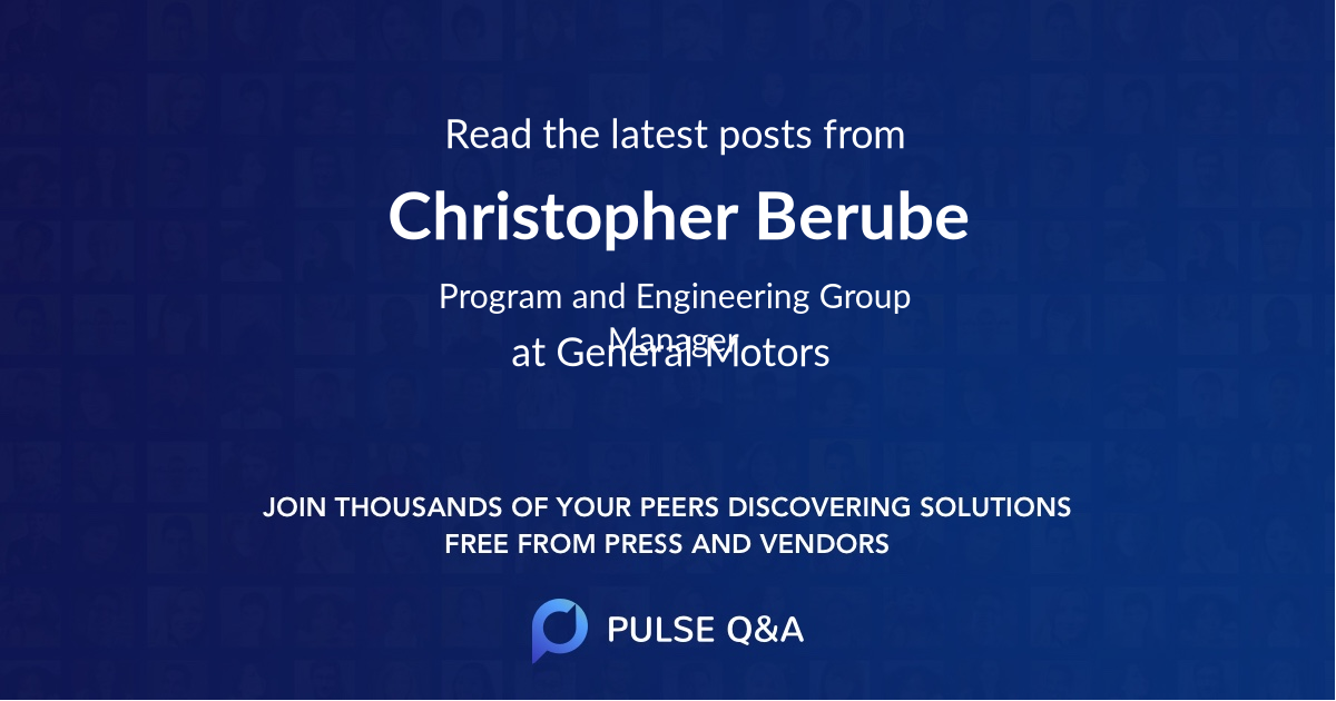 Christopher Berube