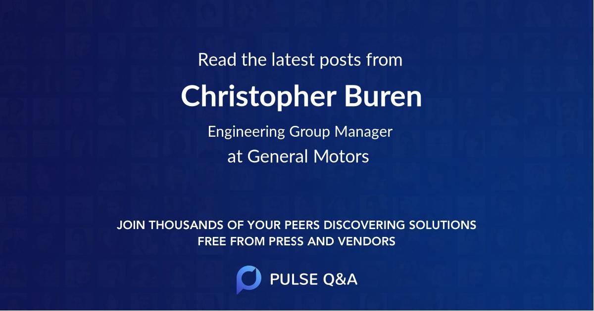 Christopher Buren