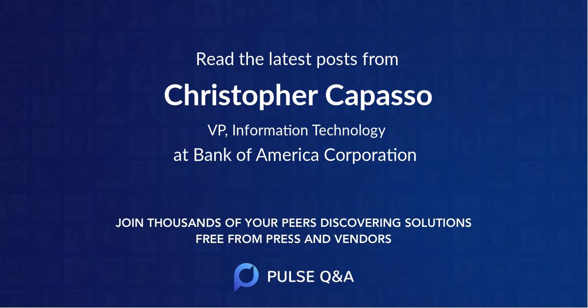 Christopher Capasso