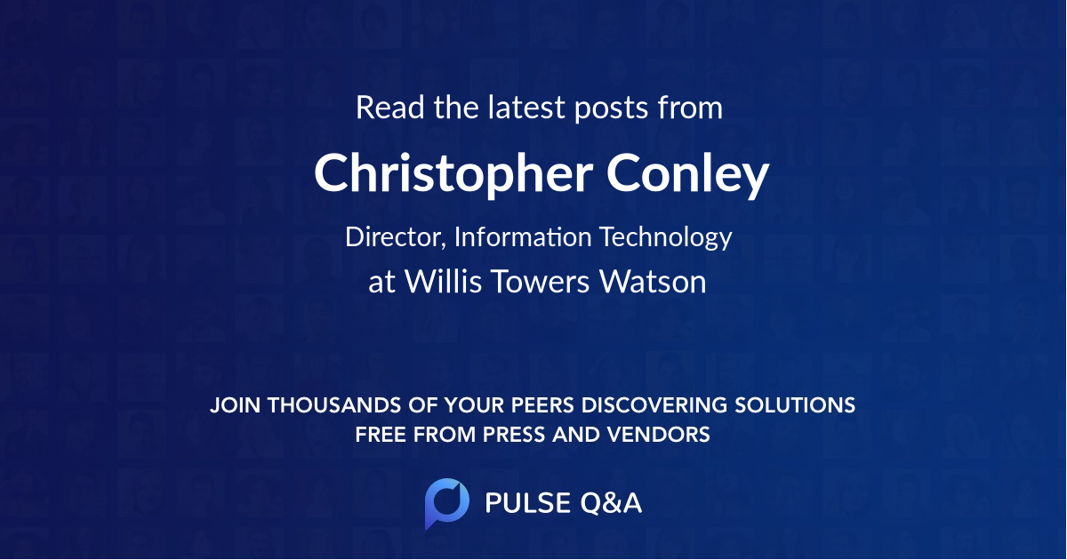 Christopher Conley