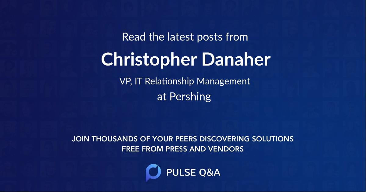 Christopher Danaher
