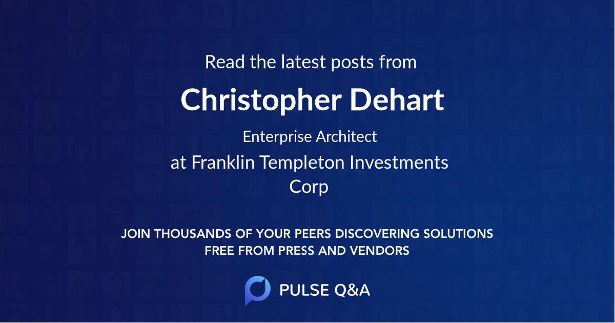 Christopher Dehart