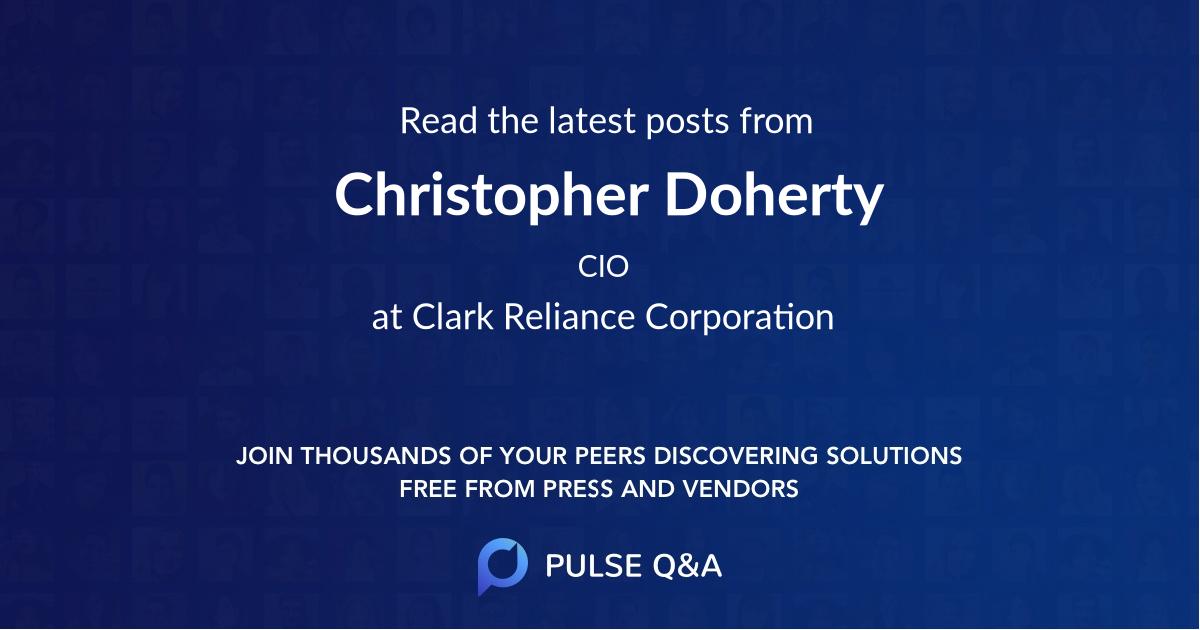 Christopher Doherty