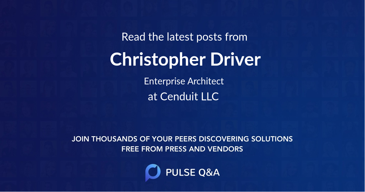 Christopher Driver