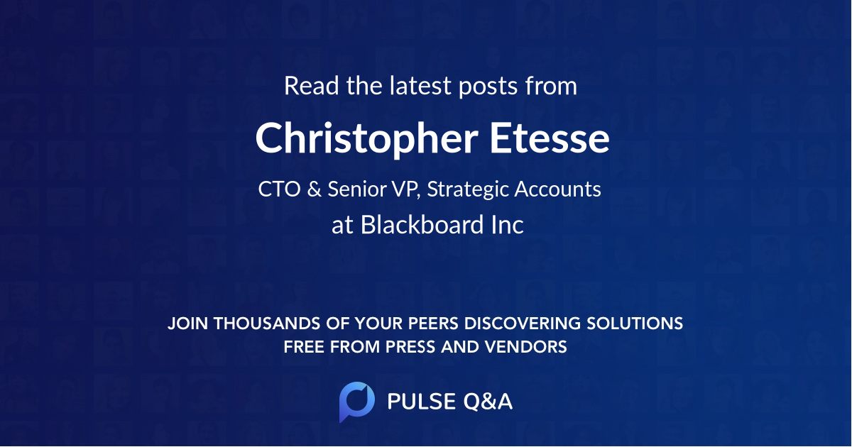 Christopher Etesse