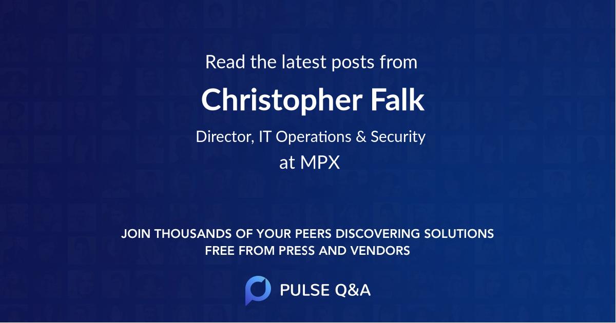 Christopher Falk