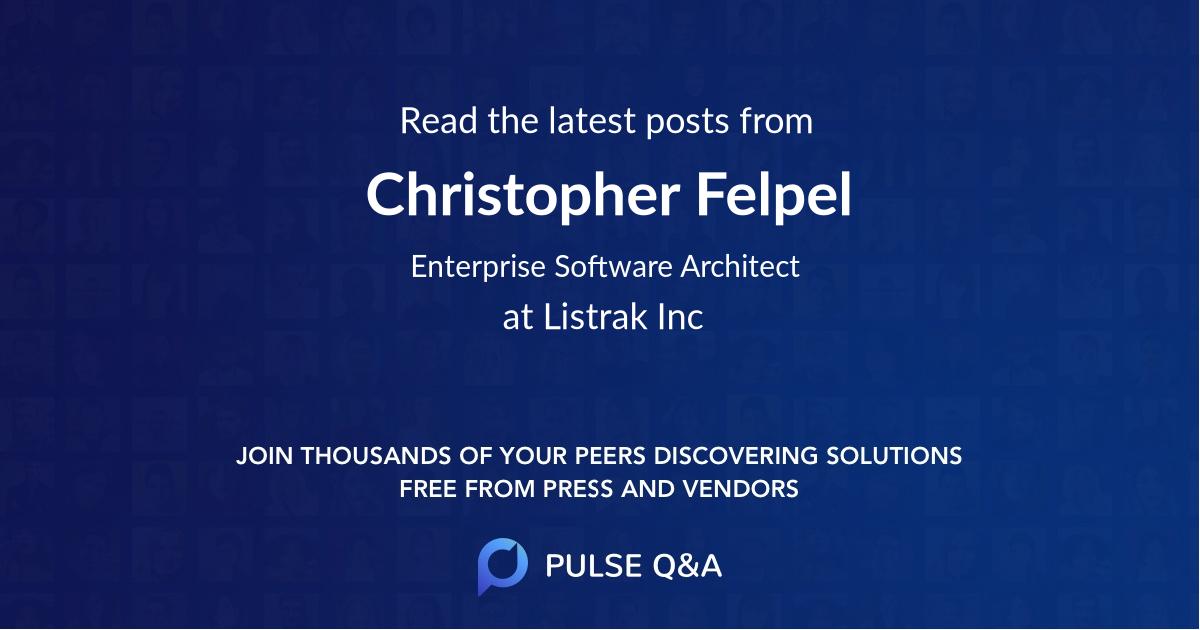 Christopher Felpel