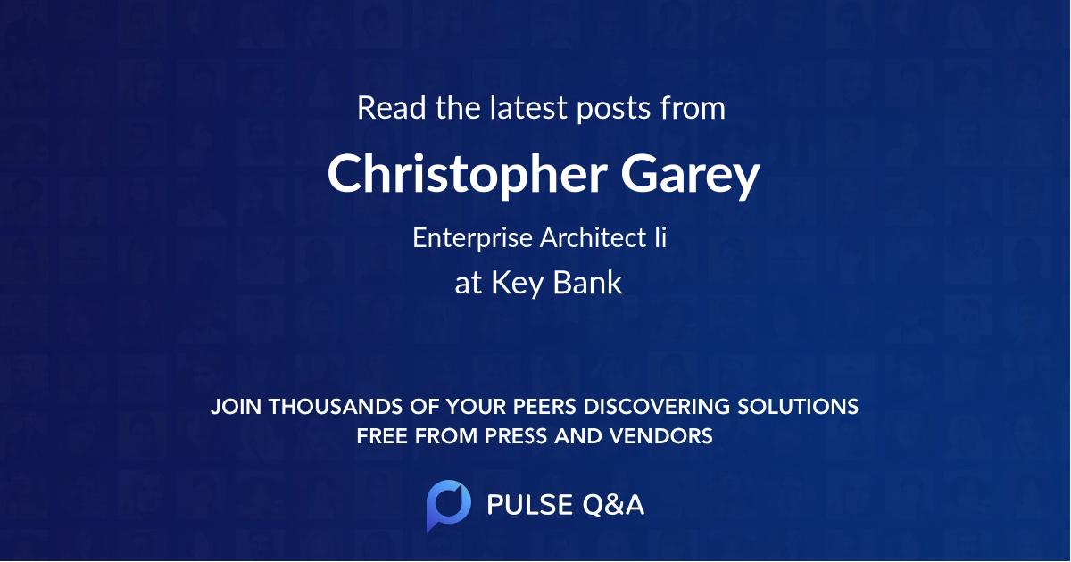 Christopher Garey
