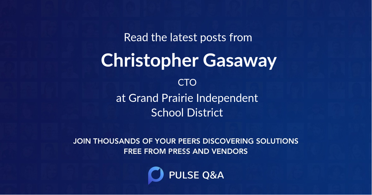 Christopher Gasaway