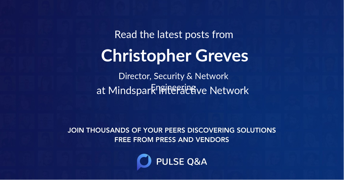 Christopher Greves