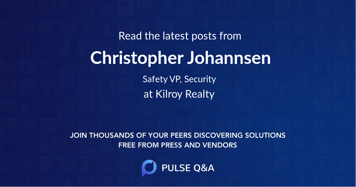 Christopher Johannsen
