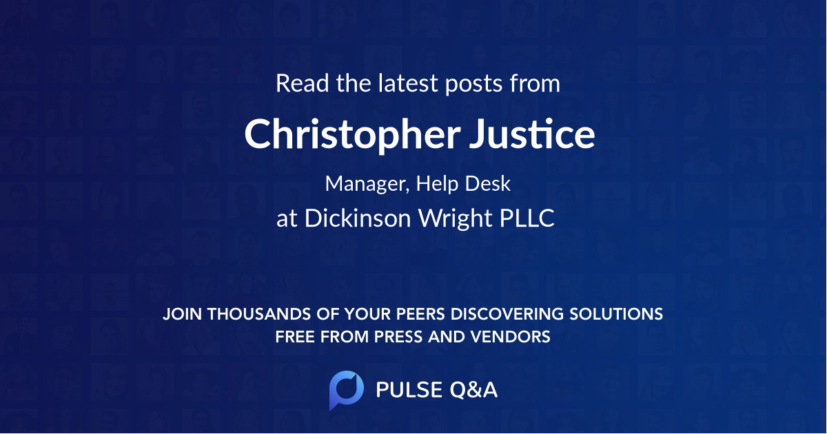 Christopher Justice