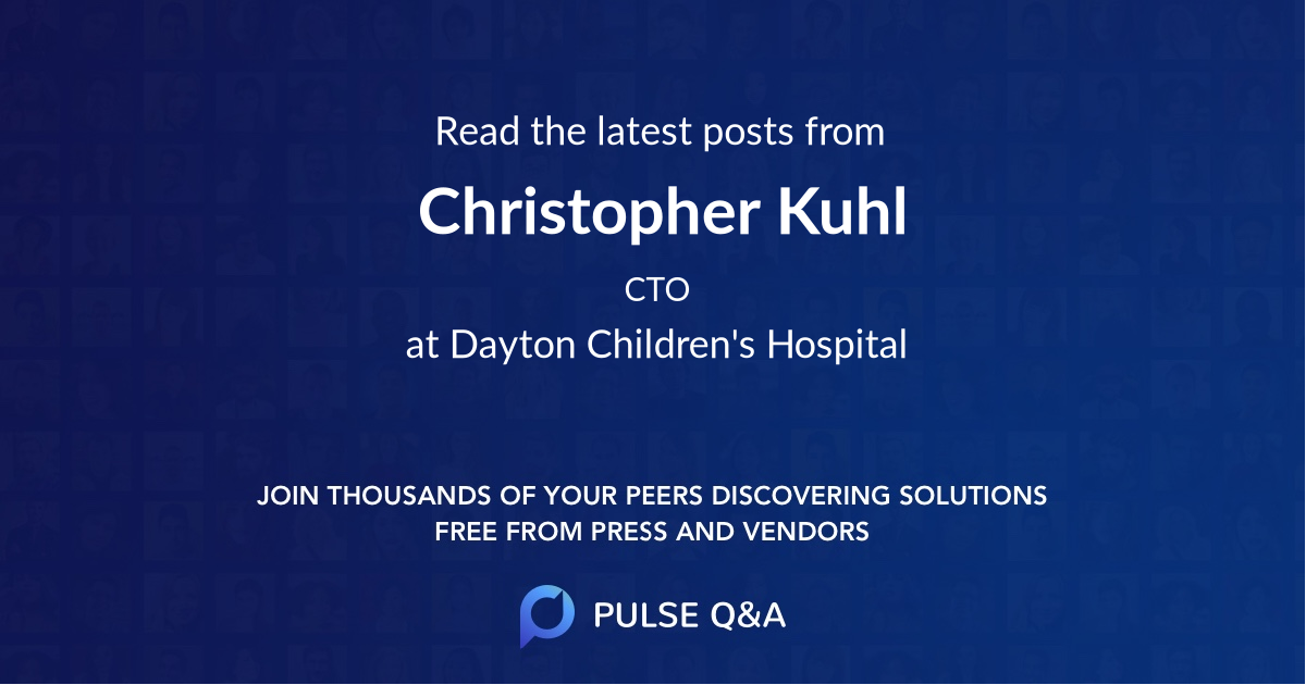 Christopher Kuhl