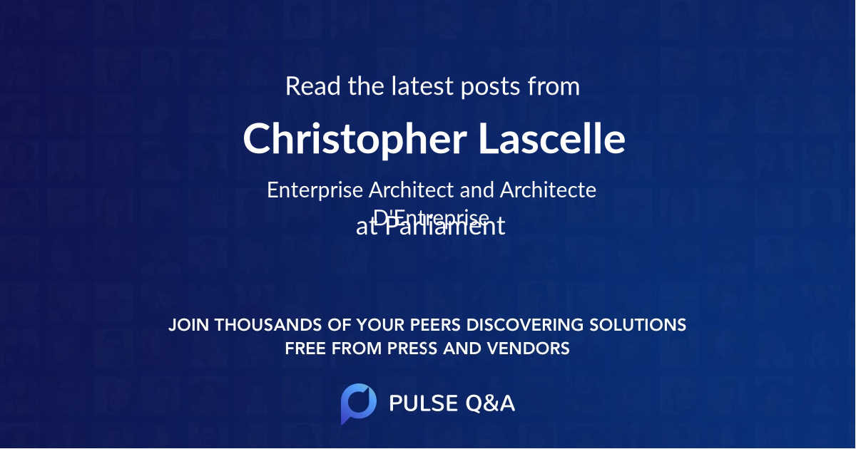 Christopher Lascelle