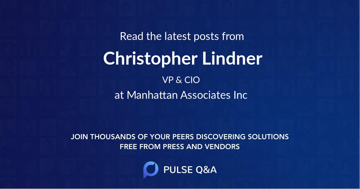 Christopher Lindner