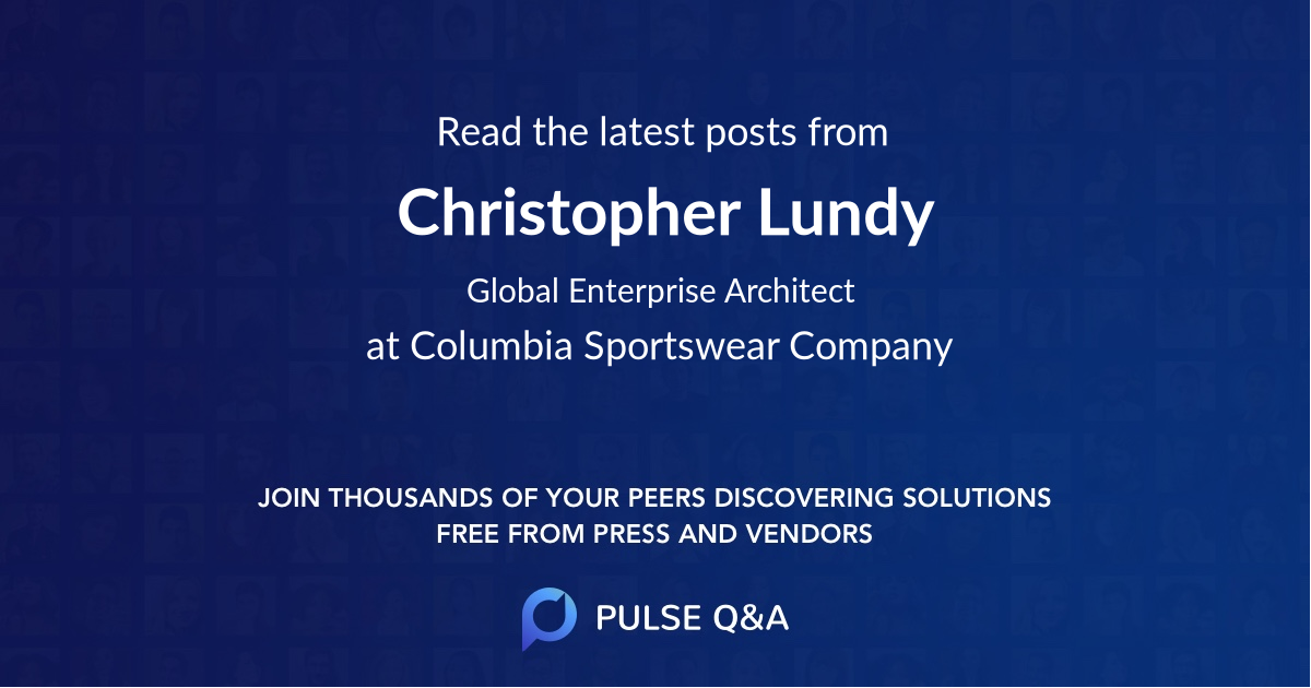 Christopher Lundy