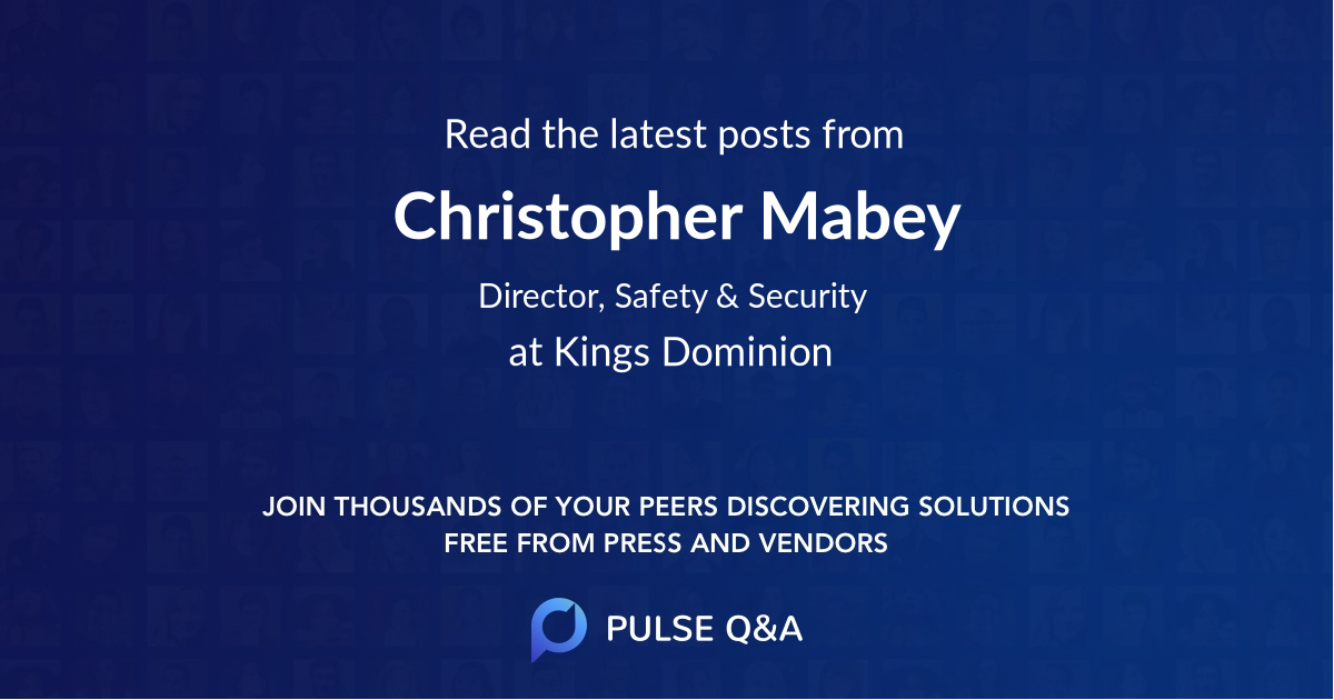Christopher Mabey