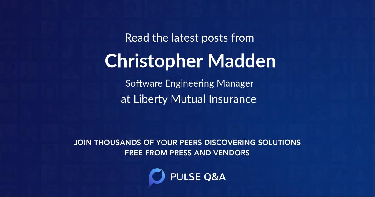 Christopher Madden