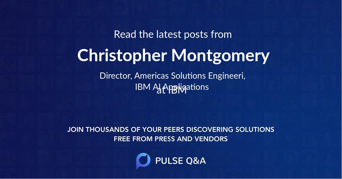 Christopher Montgomery