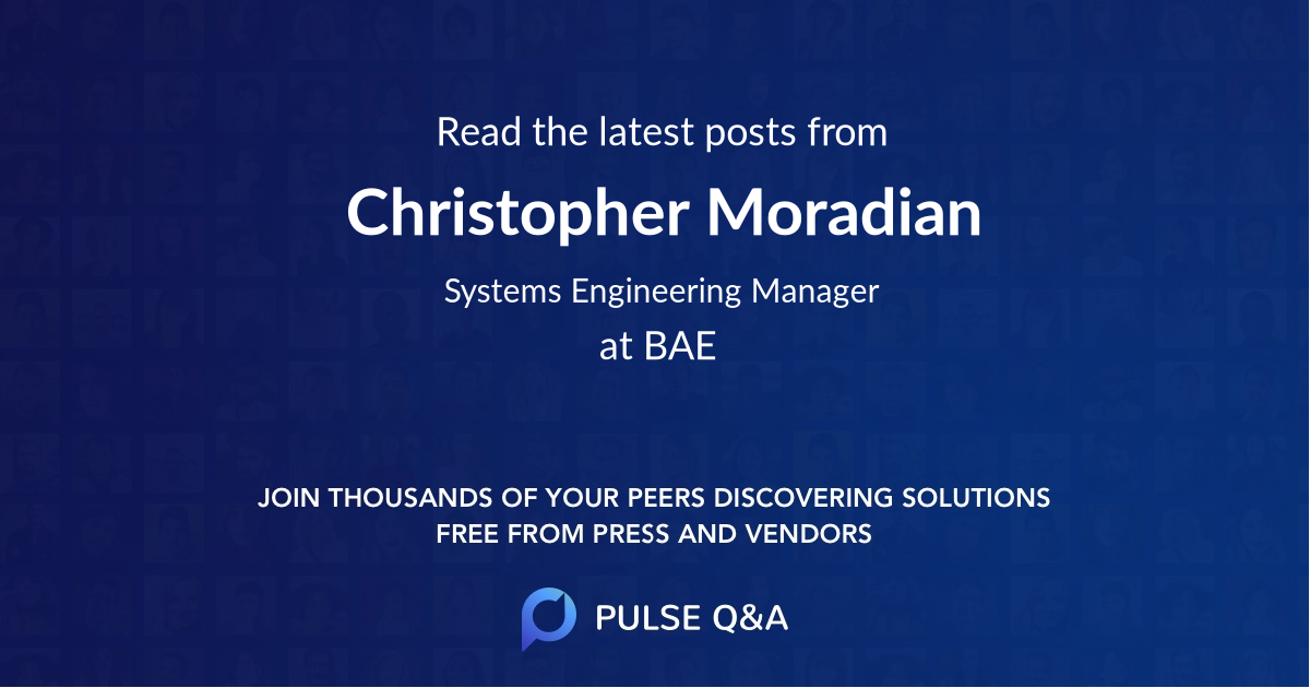 Christopher Moradian
