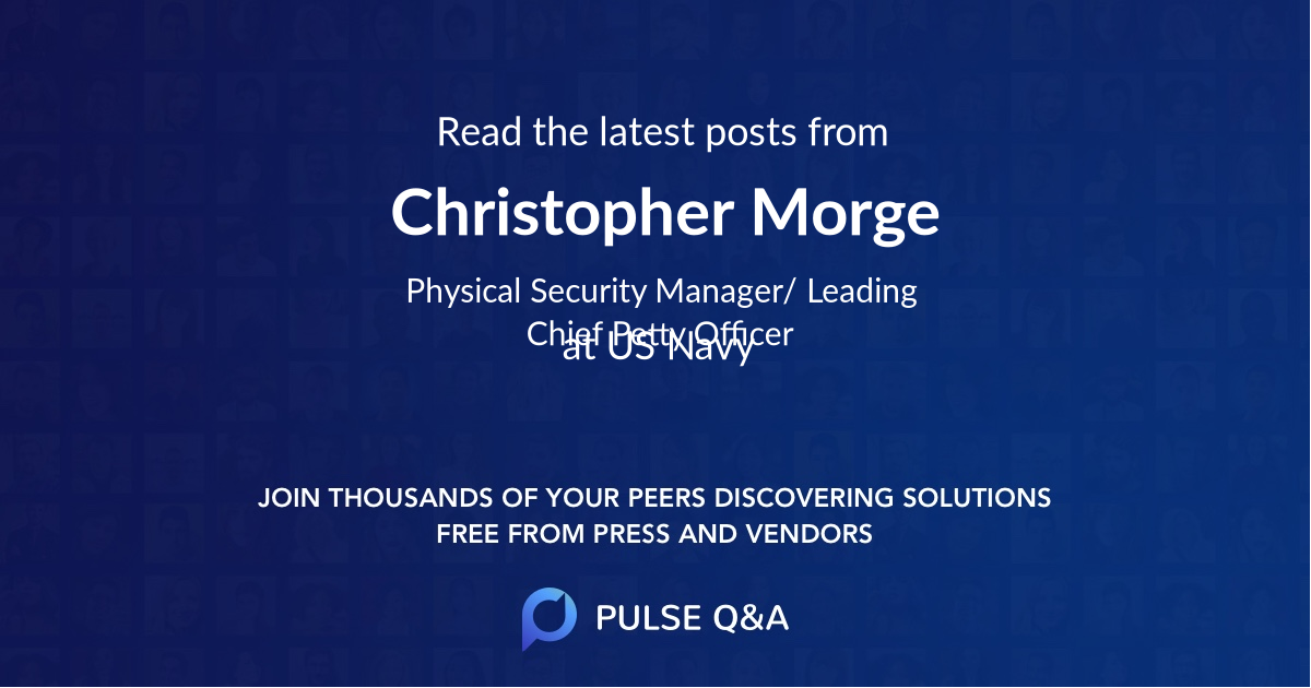 Christopher Morge