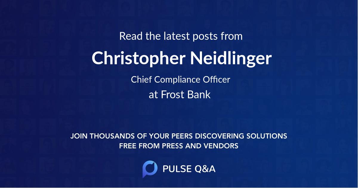 Christopher Neidlinger