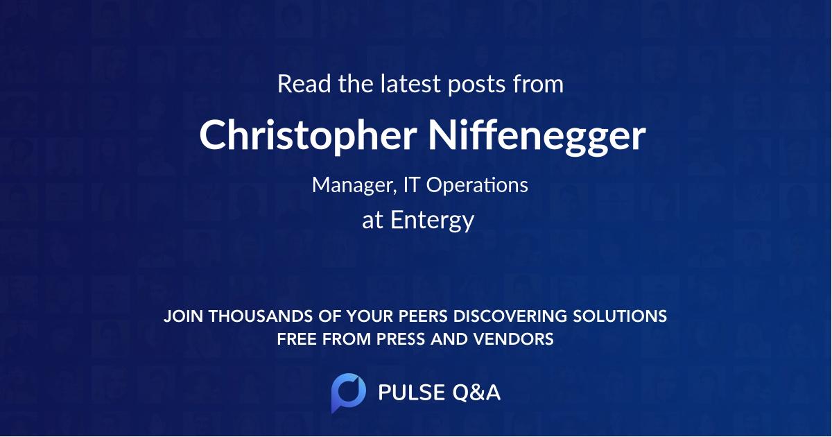 Christopher Niffenegger