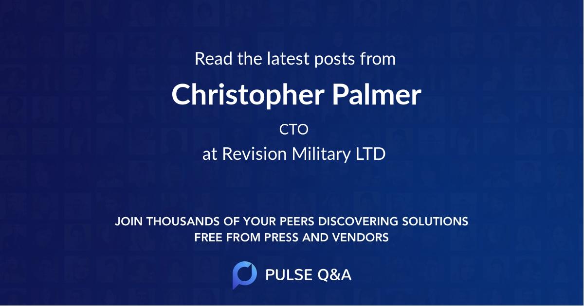 Christopher Palmer