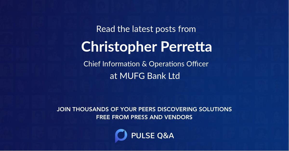 Christopher Perretta