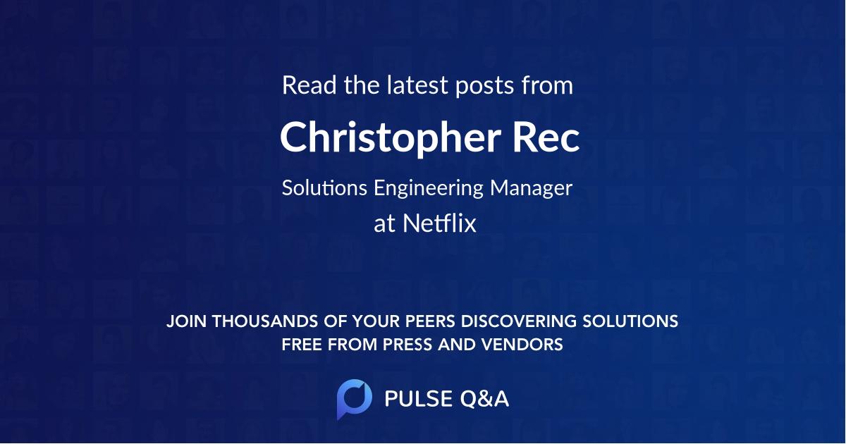 Christopher Rec